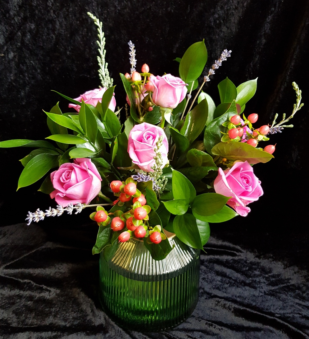 Luxury Fresh Flower Vase Arrangement Eleganza Florist